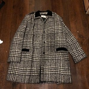 Vintage Valentino Checker Houndstooth Jacket